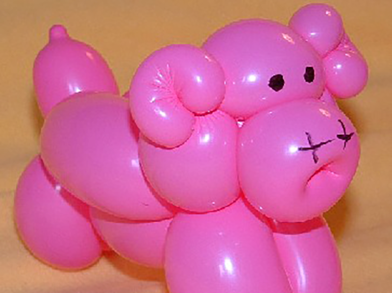 Sculpture de ballons à Paris