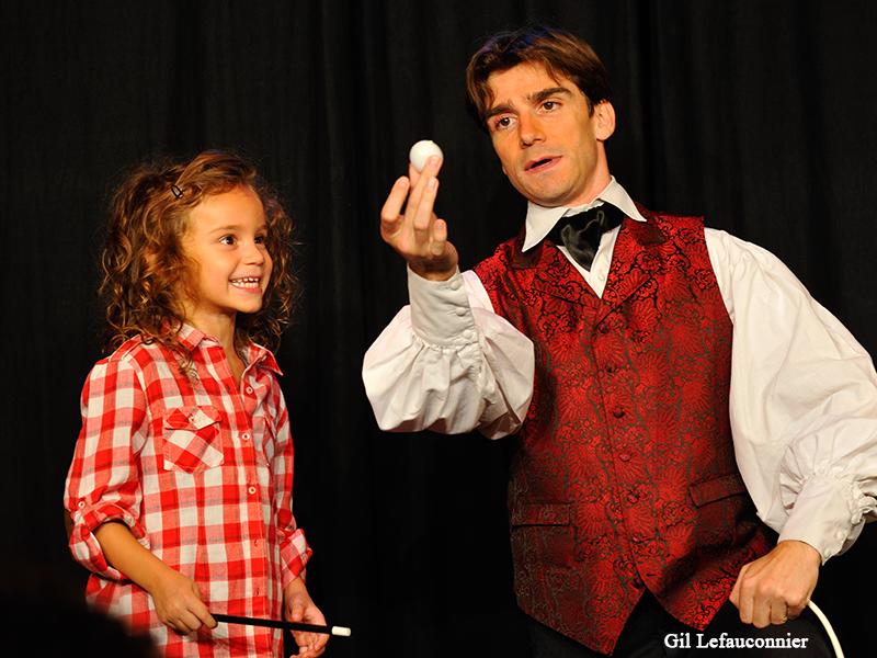 Magicien pour enfants à domicile