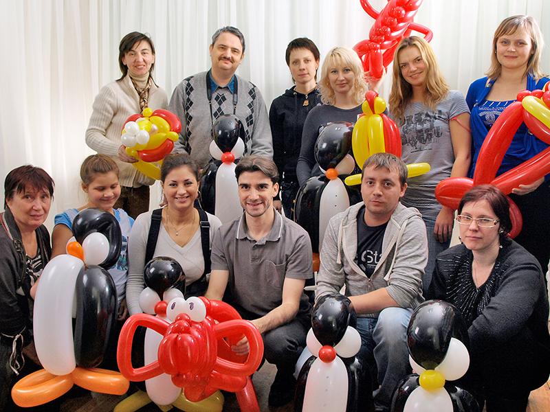 Apprendre la sculpture de ballons en région parisienne