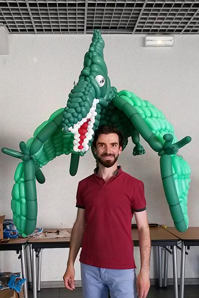 Benoît Rosemont, le sculpteur de ballons de Paris