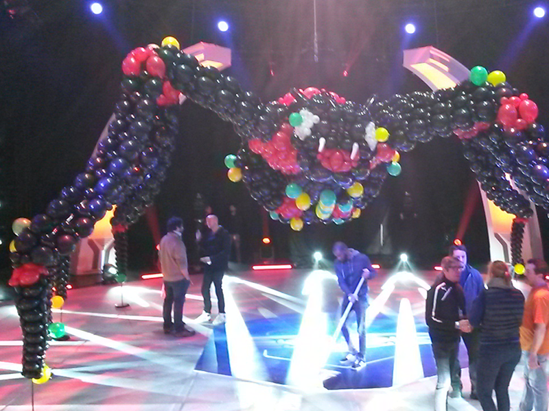 Réalisations de sculptures de ballons thématisées