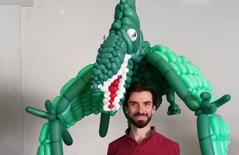Sculptures géantes en ballons à Paris