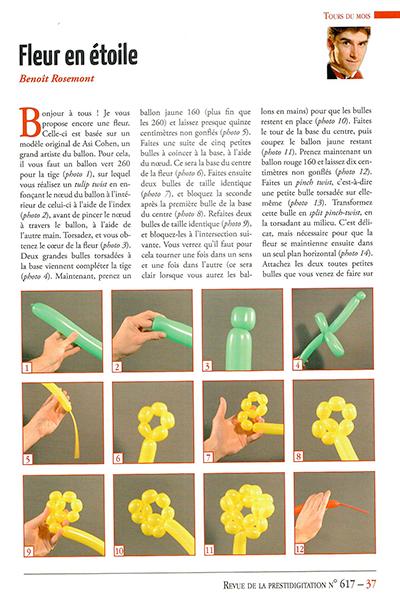 Spectacle de sculptures de ballons