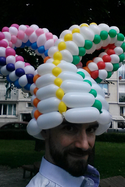 Artiste des ballons en région parisienne