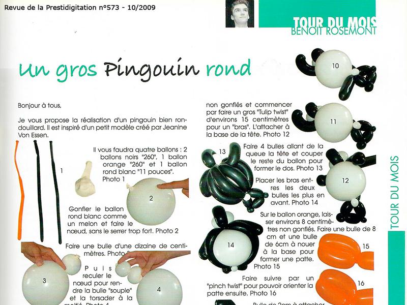 Apprendre la sculpture de ballons à Paris